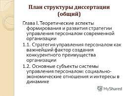 Презентация на тему Московский финансово промышленный  33 План структуры диссертации