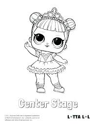 Lol Doll Coloring Pages Free Online New Printable Baby With I Love