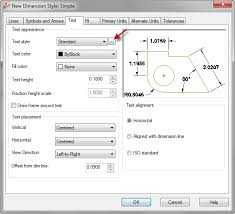 autocad dimension text size how to create a text style for a dimension autocad tips blog