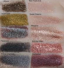 makeup geek free loose eyeshadow pigments review and swatches