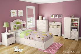 Girls Bedroom Ideas with White Bedroom Furniture Set