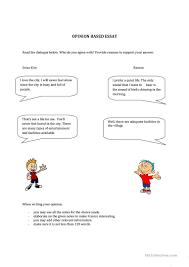 city vs village worksheet esl printable worksheets made by city vs village full screen