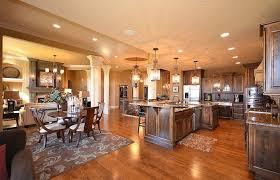 open kitchen living room floor plan. Open Floor Plan Kitchen And Simple Living Room I