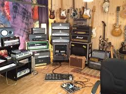 amp room guitars and amps
