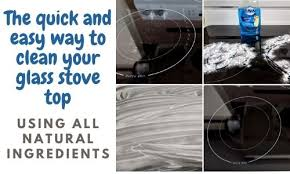remove cloudiness from glass top stove