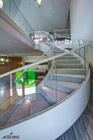 glass staircase railing glass panels glass staircase railing ideas glass staircase