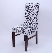 dinning chair covers for homes stretch elastic printed spandex banquet chair seat covers hotel restaurant kitchen chair protector slipcover dining room