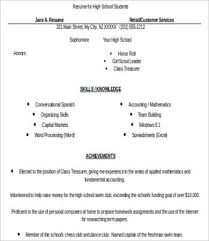 10+ High School Resume Templates - Pdf, Doc | Free & Premium Templates