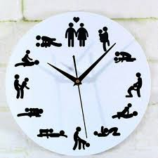 new modern position clock novelty silent wall clock for wedding lover ual culture wall watches home decor electric kitchen wall clocks electric wall