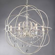 shabby chic lighting fixtures. modern crystal chandelier 5 light fixture hanging orb vintage cage shabby chic lighting fixtures t