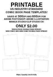 manga page size blank manga book 7 5 x 9 25 100 pages for for school teacher