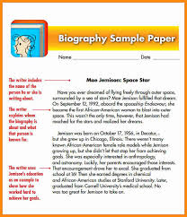 biography sample for students model resumed 4 biography sample for students