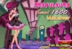 draculaura makeup and dress up monster high
