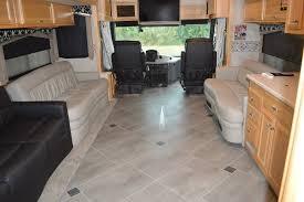 2006 fleetwood revolution karndean luxury vinyl flooring upgrade rv renovation