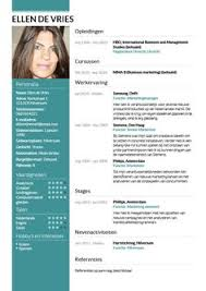 Modern Resume Template & Cover Letter + Icon Set For Microsoft Word ...