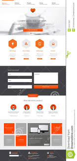 one page website template one page website design template all in one set for website