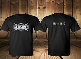 Tesla Clothing Size Chart Details About New Tesla Metal Rock Band Legend Black 2 Side Tee T Shirt Usa Size S 3xl Fq1