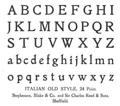 file name stephenson blake charles reed italian old style