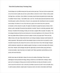 Sample Of Synthesis Essay 6 Synthesis Essay Examples Samples Pdf Examples