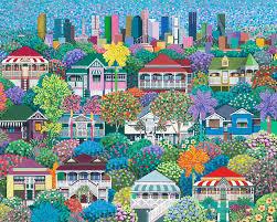 Confetti-Avenues   Debra Hood Art Pty Ltd
