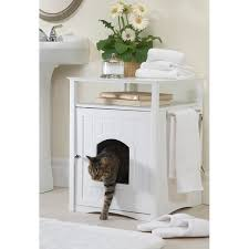 Decorative Cat Litter Box Covers Merry Products Furniture Hidden Cat Litter Box Enclosure Free 40