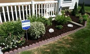 Small Picture Awesome Garden Design Ideas For Front Of House Small Flower Beds