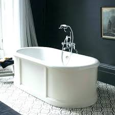 2 sided bathtub 2 sided bathtub 2 sided bathtub bath with curved surround overflow and waste