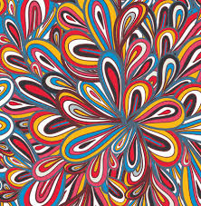 Colorful Patterns Interesting Elements Of Colorful Floral Seamless Pattern Design Vector 48 Free