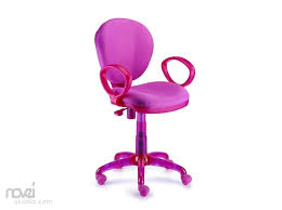 adorable pink rolling desk with cushion seat for girl and rolling desk chair wood kids desk