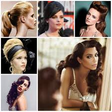 Retro Hair Style Retro Hairstyle Ideas For Long Hair 2017 New Haircuts To Try For 8033 by wearticles.com
