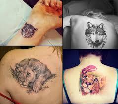модная татуировка для девушки