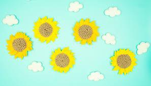 Sunflower Diy Free Template And Svg Fleece Fun