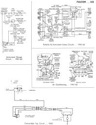 falcon wiring diagrams 61 62 instrument gauge a c lights 63 convertible top 74k right half print version 854k png