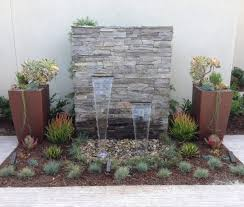 wall fountains outdoor sound like waterfalls sandydeluca design wall fountains outdoor interior decor minimalist