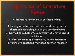 importance literature review in research the importance of the importance of literature review in research writing zel ders