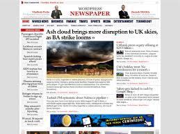 Wordpress Template Newspaper Best Newspaper Themes For Wordpress Smashing Magazine