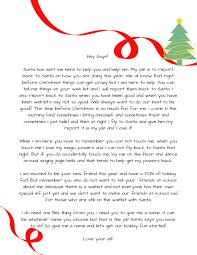 Printable elf letter