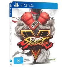 street fighter v steelbook edition playstation 4 jb hi fi