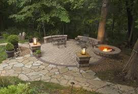 flagstone fire pit ideas nice patio and firepit 38 gas homemade plans custom welded pits how