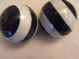 Decorative Marble Balls 100 Decorative Marble Onyx Balls Spheres Black White Marble 88