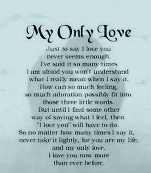 poem about life and love