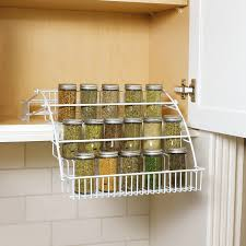 Spice Racks For Kitchen Shop Rubbermaid Coated Wire In Cabinet Spice Rack At Lowescom