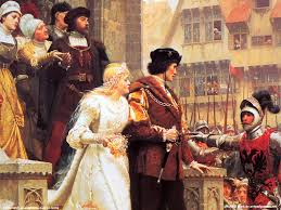 edmund blair leighton the accolade painting