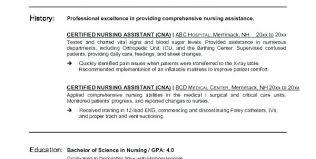 Patient Care Technician Job Description For Resume Certified Nursing