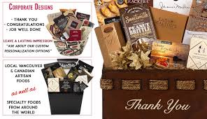 corporate gifts and baskets