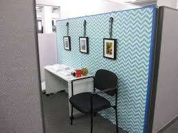 Decorate wall with fabric or wall paper (pin or starch to wall) Cute cubicle  // Cubicle Makeover // National Business Furniture