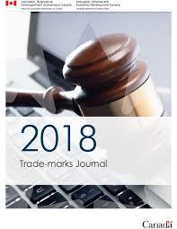 Trade-marks Journal Vol. 65 No. 3332