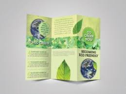 Green Brochure Template Green Brochure Template Download Make Your Own Tri Fold Brochure