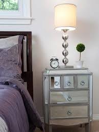 Mirrored Night Stands Bedroom Affordable Nightstands Surripuinet