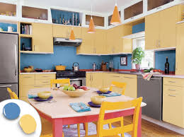 Colorful Kitchen Cabinets Two Different Colors Kitchen Cabinets Kitchen Cabinets Different
